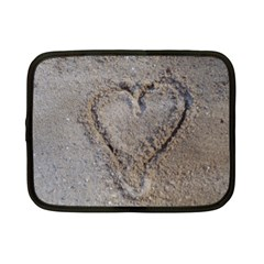 Heart In The Sand Netbook Sleeve (small)