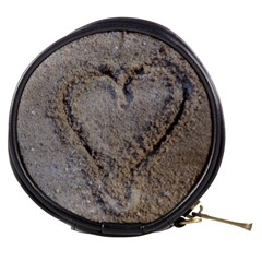 Heart in the sand Mini Makeup Case