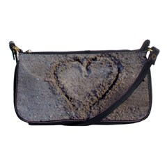 Heart in the sand Evening Bag