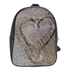 Heart In The Sand School Bag (xl)