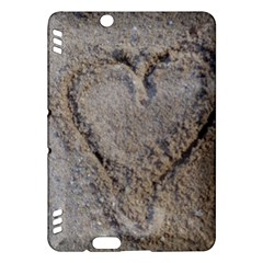 Heart In The Sand Kindle Fire Hdx Hardshell Case