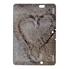 Heart in the sand Kindle Fire HDX 8.9  Hardshell Case