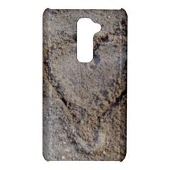 Heart in the sand LG G2 Hardshell Case