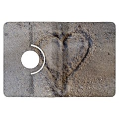 Heart in the sand Kindle Fire HDX Flip 360 Case
