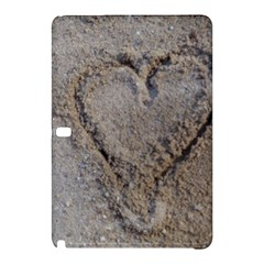 Heart in the sand Samsung Galaxy Tab Pro 12.2 Hardshell Case
