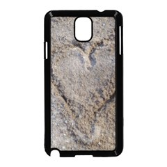 Heart in the sand Samsung Galaxy Note 3 Neo Hardshell Case (Black)