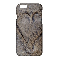 Heart In The Sand Apple Iphone 6 Plus Hardshell Case
