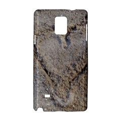 Heart in the sand Samsung Galaxy Note 4 Hardshell Case