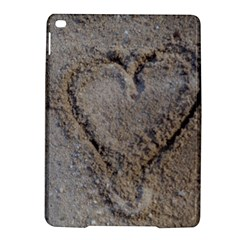 Heart In The Sand Apple Ipad Air 2 Hardshell Case