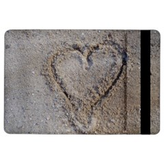 Heart in the sand Apple iPad Air 2 Flip Case
