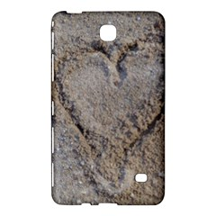 Heart in the sand Samsung Galaxy Tab 4 (7 ) Hardshell Case