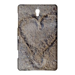 Heart in the sand Samsung Galaxy Tab S (8.4 ) Hardshell Case