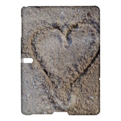 Heart in the sand Samsung Galaxy Tab S (10.5 ) Hardshell Case