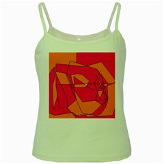 Red Orange 5000 Green Spaghetti Tank