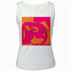 Red Orange 5000 Women s Tank Top (white)