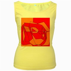 Red Orange 5000 Women s Tank Top (yellow)