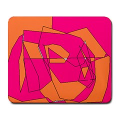 Red Orange 5000 Large Mouse Pad (rectangle)