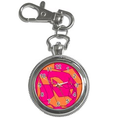 Red Orange 5000 Key Chain Watch