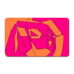 Red Orange 5000 Magnet (rectangular)