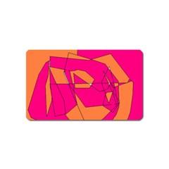 Red Orange 5000 Magnet (name Card)
