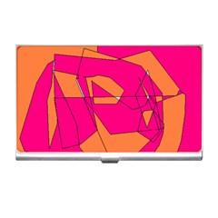 Red Orange 5000 Business Card Holder