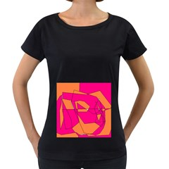 Red Orange 5000 Women s Loose-Fit T-Shirt (Black)
