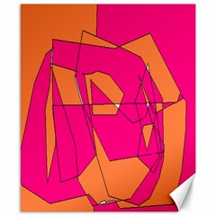 Red Orange 5000 Canvas 8  X 10  (unframed)