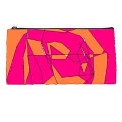 Red Orange 5000 Pencil Case