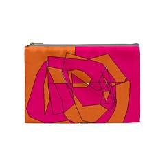 Red Orange 5000 Cosmetic Bag (medium)