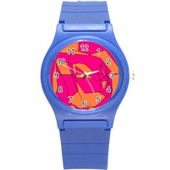 Red Orange 5000 Plastic Sport Watch (Small)