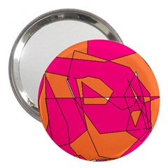 Red Orange 5000 3  Handbag Mirror