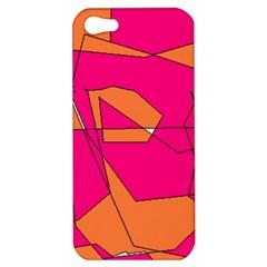 Red Orange 5000 Apple iPhone 5 Hardshell Case