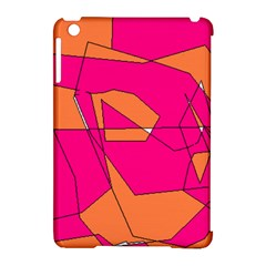 Red Orange 5000 Apple iPad Mini Hardshell Case (Compatible with Smart Cover)