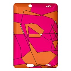 Red Orange 5000 Kindle Fire Hd (2013) Hardshell Case
