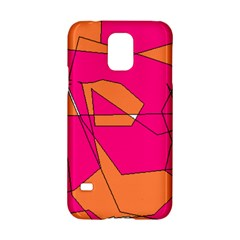 Red Orange 5000 Samsung Galaxy S5 Hardshell Case
