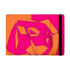 Red Orange 5000 Apple iPad Mini 2 Flip Case