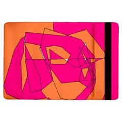 Red Orange 5000 Apple Ipad Air Flip Case