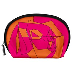 Red Orange 5000 Accessory Pouch (Large)