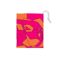 Red Orange 5000 Drawstring Pouch (Small)