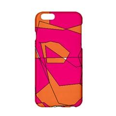 Red Orange 5000 Apple iPhone 6 Hardshell Case
