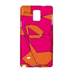 Red Orange 5000 Samsung Galaxy Note 4 Hardshell Case
