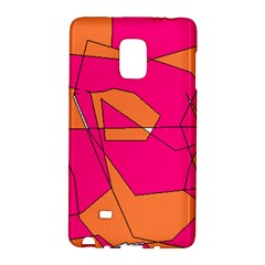 Red Orange 5000 Samsung Galaxy Note Edge Hardshell Case