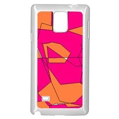 Red Orange 5000 Samsung Galaxy Note 4 Case (white)