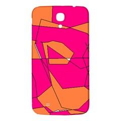 Red Orange 5000 Samsung Galaxy Mega I9200 Hardshell Back Case