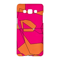 Red Orange 5000 Samsung Galaxy A5 Hardshell Case