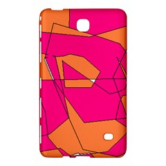 Red Orange 5000 Samsung Galaxy Tab 4 (7 ) Hardshell Case