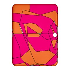 Red Orange 5000 Samsung Galaxy Tab 4 (10.1 ) Hardshell Case