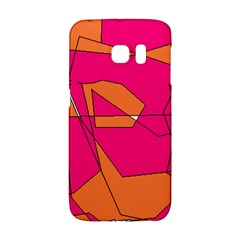 Red Orange 5000 Samsung Galaxy S6 Edge Hardshell Case