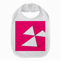 Pink White Art Kids 7000 Bib