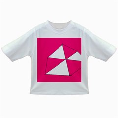 Pink White Art Kids 7000 Baby T-shirt